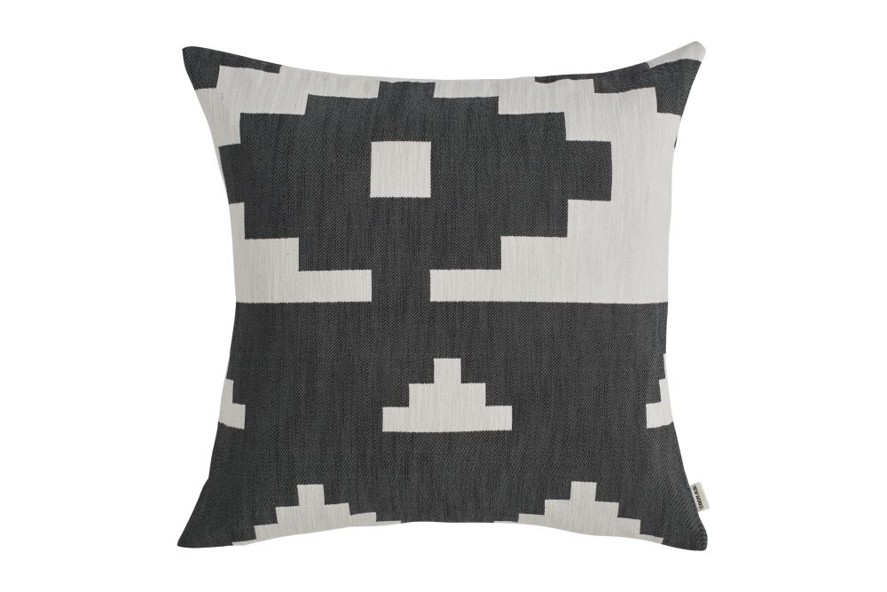 Marine Blue,New Works,Cushions,beige,black,brown,cushion,design,furniture,linens,pattern,pillow,textile,throw pillow,white