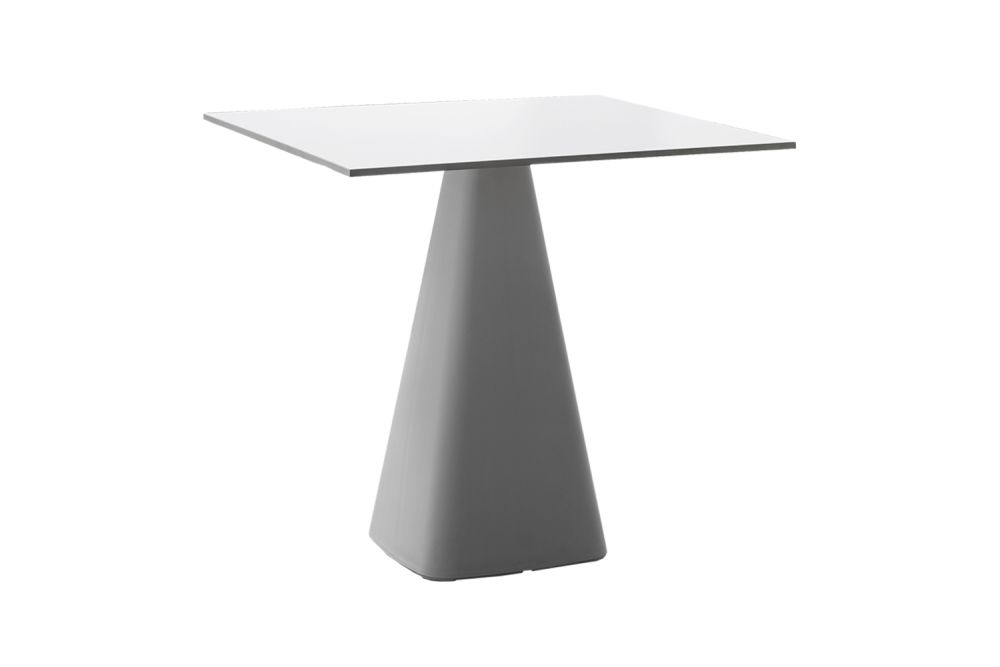 00 White, 00 White Compact, 74, 60 x 60,Gaber,Cafe Tables,end table,furniture,outdoor table,table