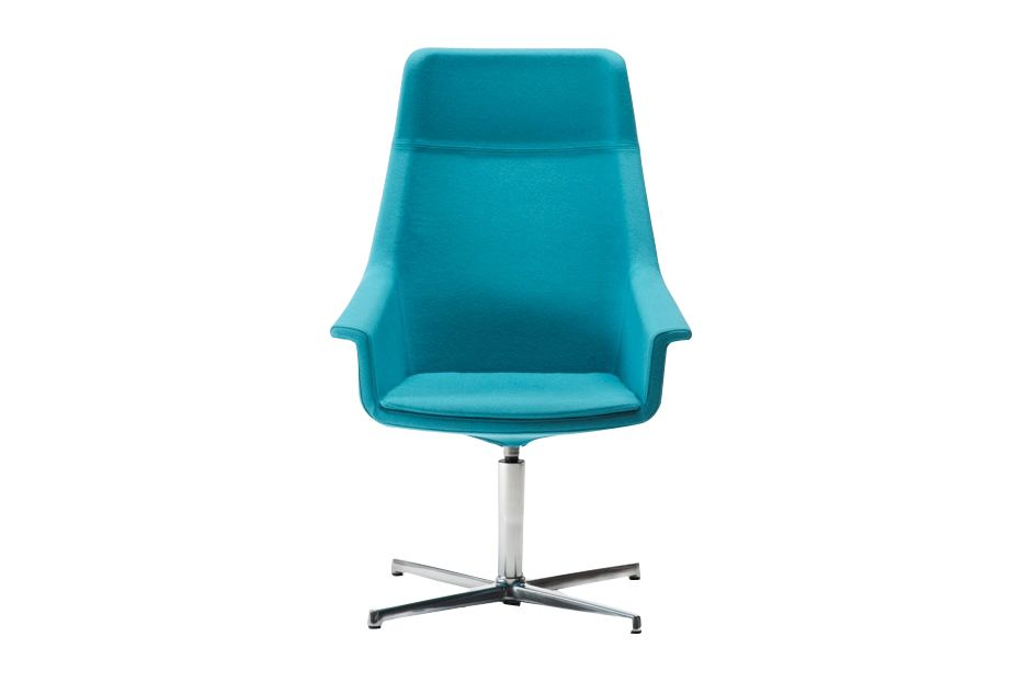Jet 9110,Diemme,Conference Chairs,aqua,blue,chair,furniture,office chair,plastic,teal,turquoise