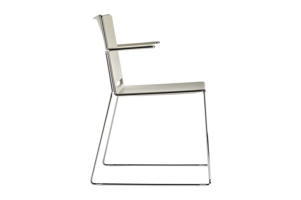 White, Chrome,Diemme,Conference Chairs,folding chair
