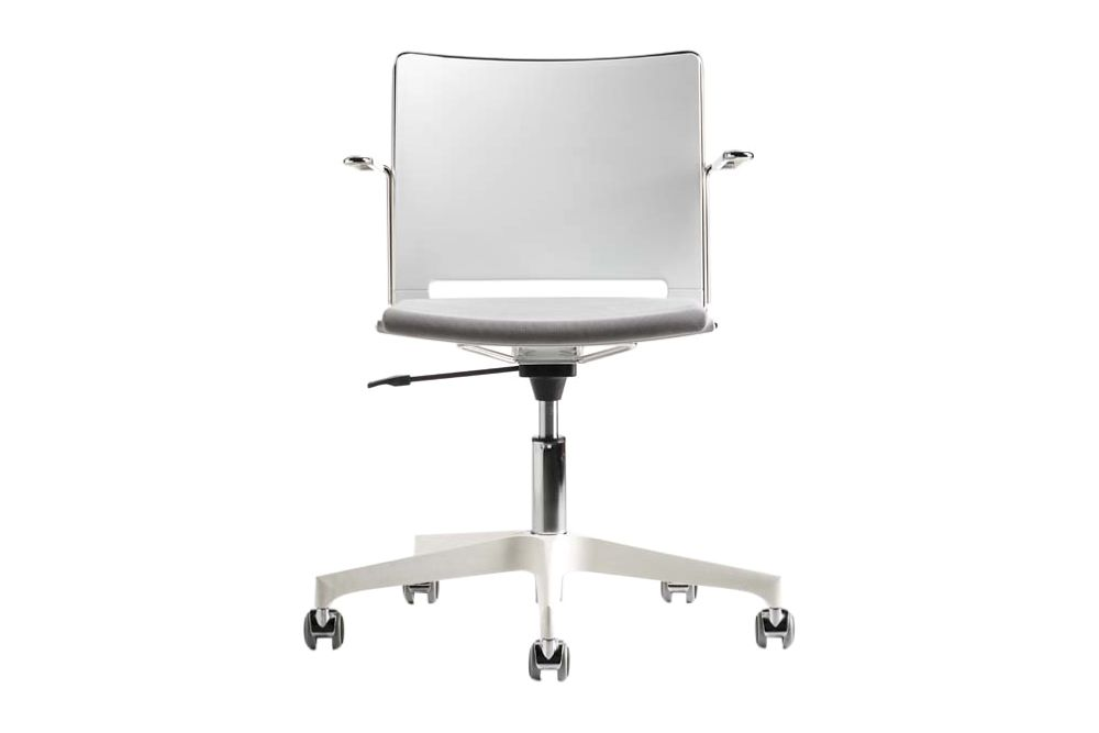 White, Black,Diemme,Conference Chairs,chair,furniture,office chair,product,table
