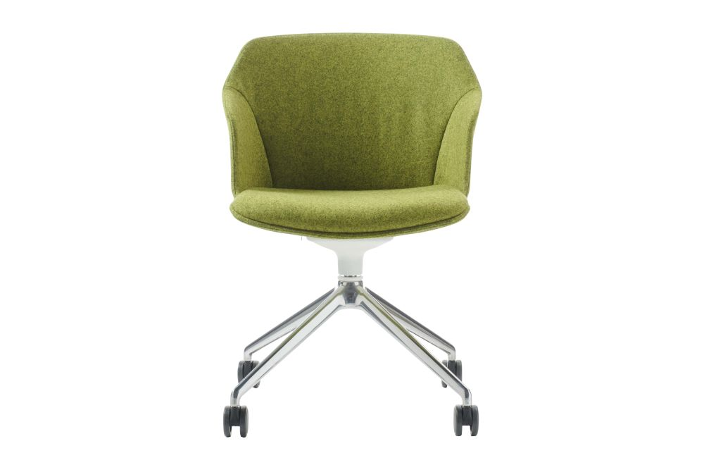 Jet 9110, Polished Aluminium,Diemme,Conference Chairs,chair,furniture,green,line,office chair
