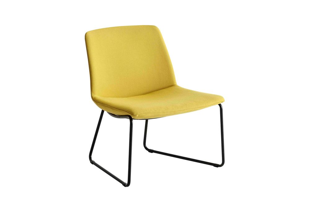 Simil Leather Aurea 1, Chromed Metal,Gaber,Breakout Lounge & Armchairs,chair,furniture,yellow