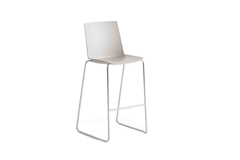Chromed Metal, 00 White,Gaber,Workplace Stools,chair,furniture