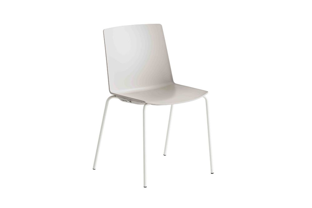 Chromed Metal, 00 White,Gaber,Breakout & Cafe Chairs,chair,furniture