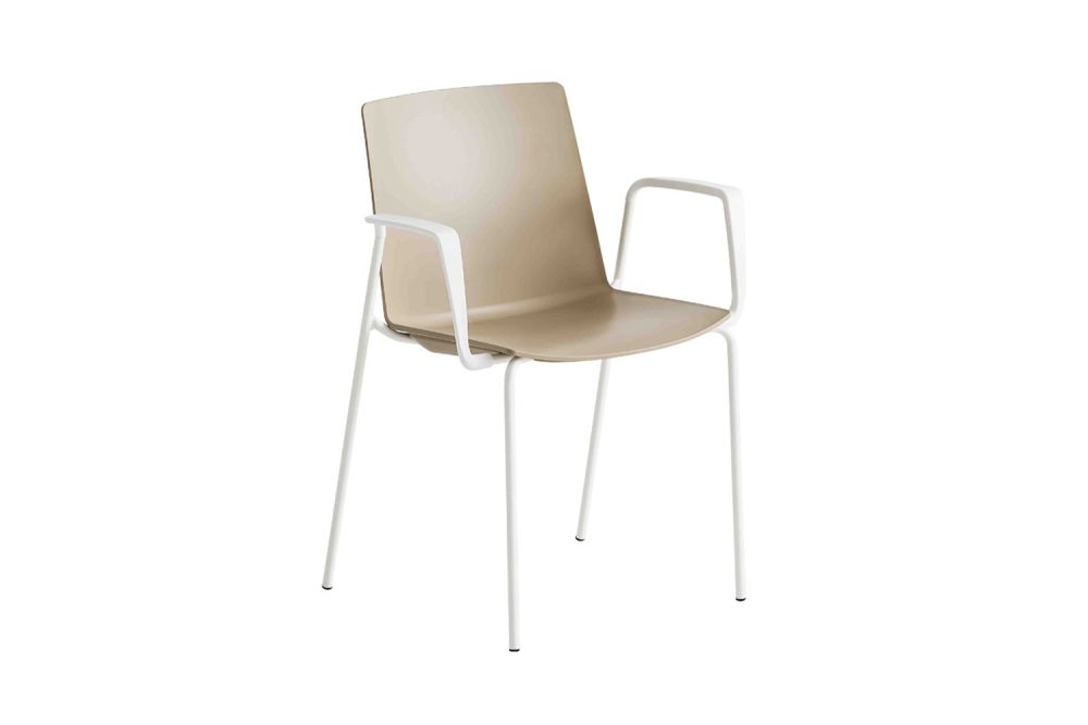 Chromed Metal, 00 White,Gaber,Breakout & Cafe Chairs,beige,chair,furniture,white