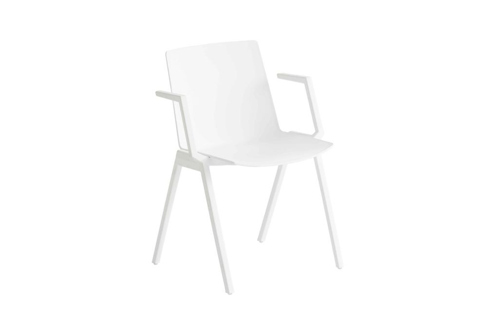 00 White, 00 White,Gaber,Breakout & Cafe Chairs,chair,furniture,white