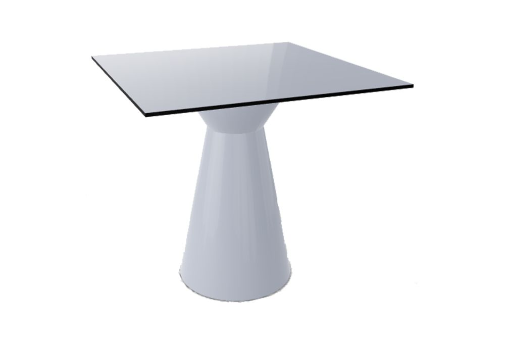 00 White, 00 White Compact, 60 x 60, 74,Gaber,Cafe Tables,coffee table,end table,furniture,outdoor table,table