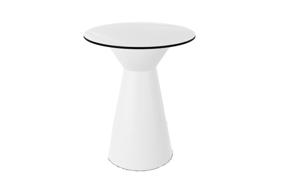 00 White Compact, 60,Gaber,Cafe Tables,coffee table,furniture,stool,table