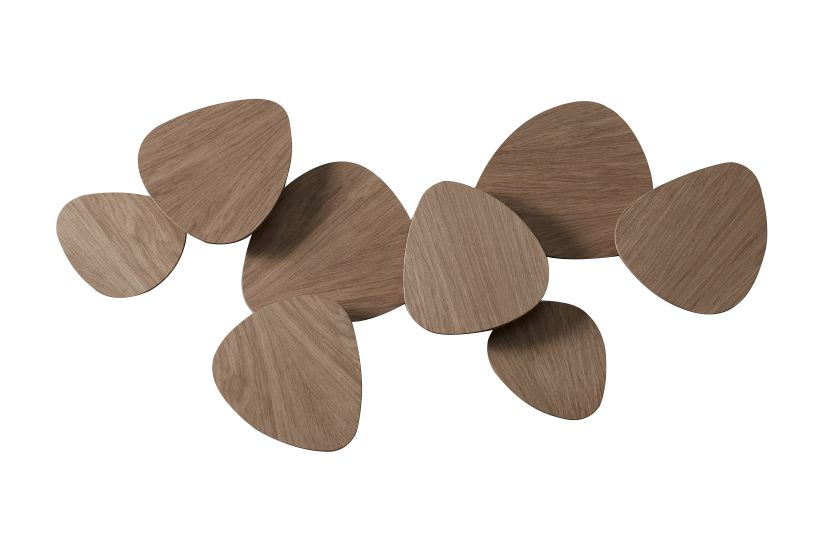 White Satin Lacquer, Yes,BOVER,Wall Lights,brown,leaf,product,wood