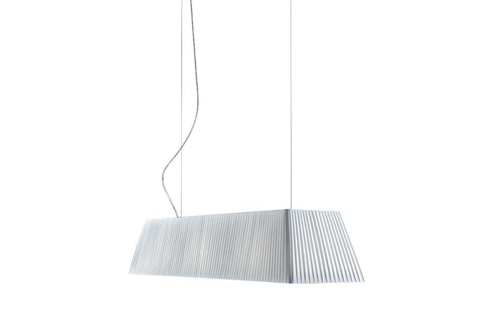 White Translucent Ribbon, 120cm,BOVER,Pendant Lights,line,white
