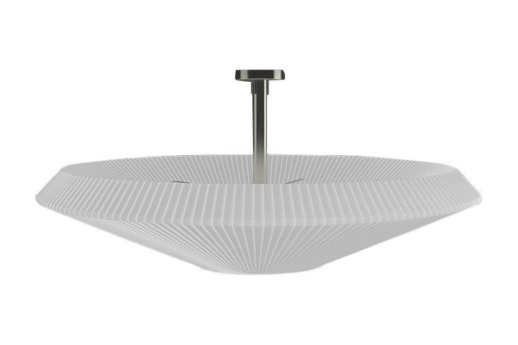 White Translucent Ribbon, Nickel,  36cm, 120cm,BOVER,Ceiling Lights,ceiling,ceiling fixture