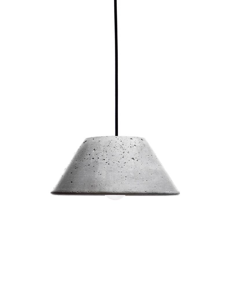 Mons280 Concrete Pendant Light by URBI ET ORBI