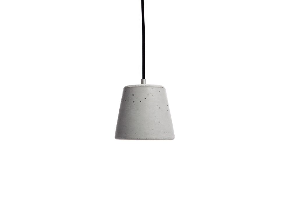 Calix 14 Concrete Pendant Light Calix 14 by URBI ET ORBI