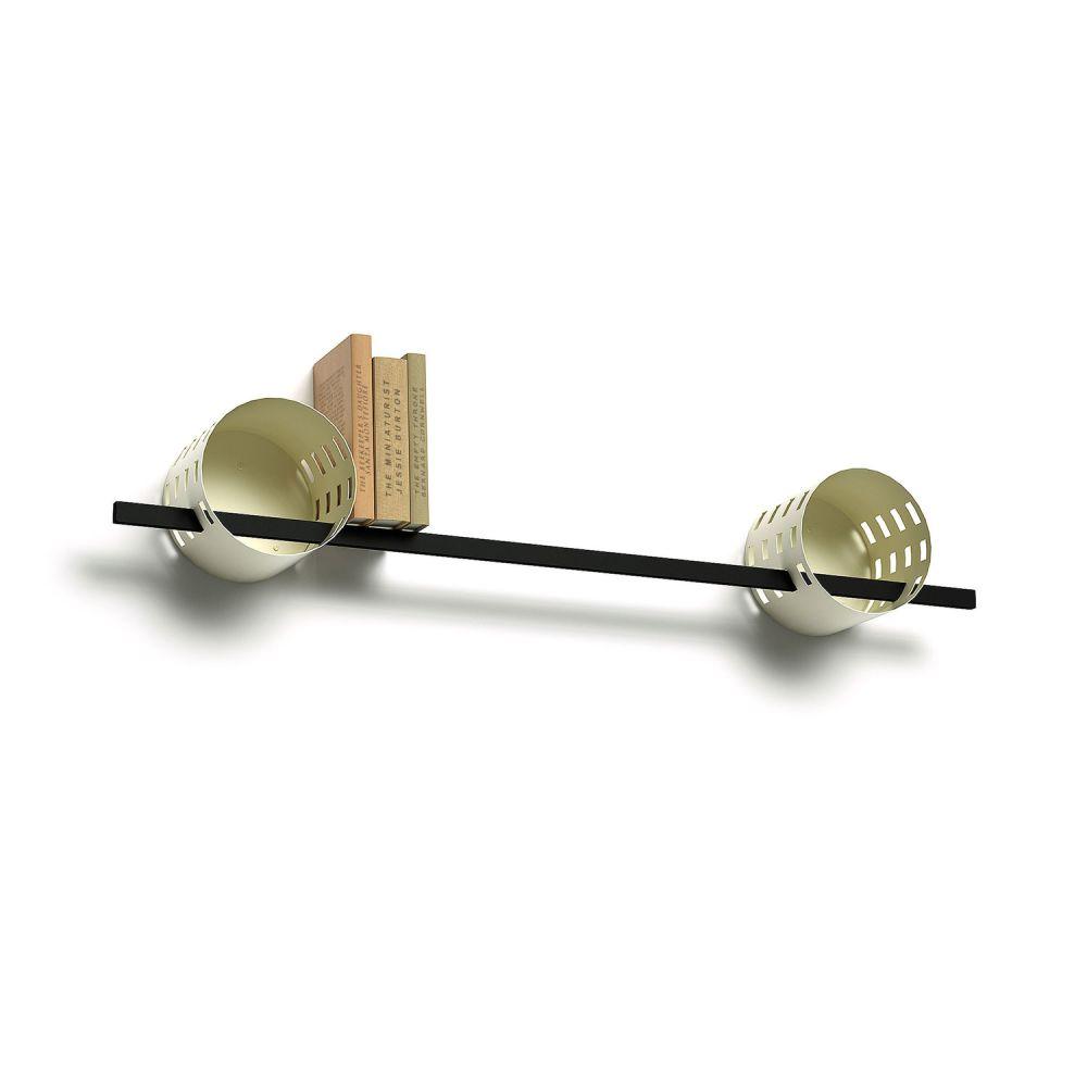Ray Shelf Modular Shelving System - DUO-Circular by Matteo Gerbi