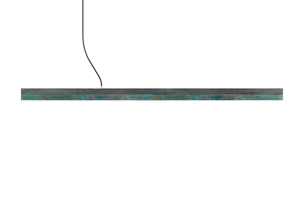 [C] Concrete & Oxidised Copper Pendant Light by GANTlights