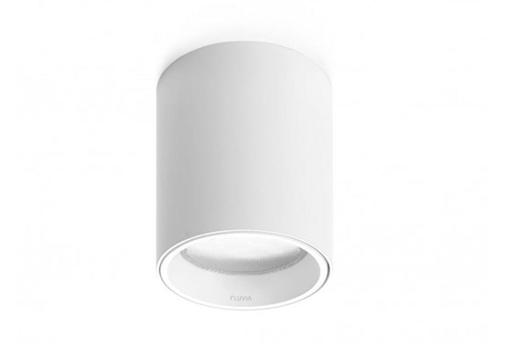 Spot 20º, 1-10V - Push & Dim, White 00,Fluvia,Ceiling Lights,ceiling,cylinder,white
