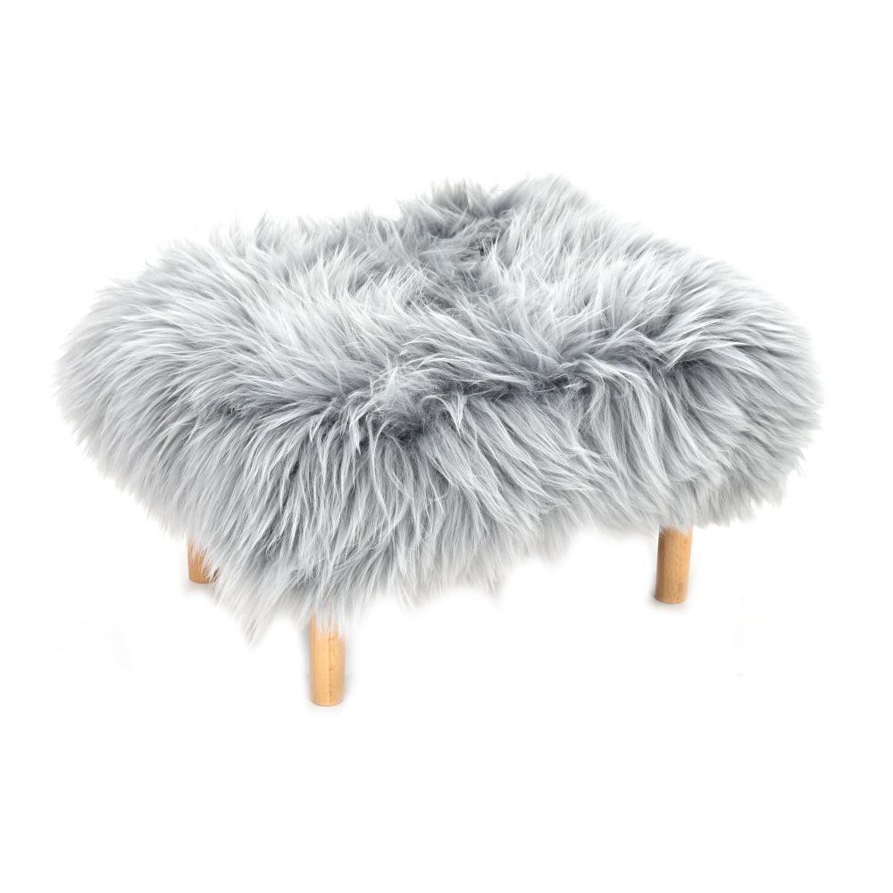 Bethan - Sheepskin Footstool by Baa Stool