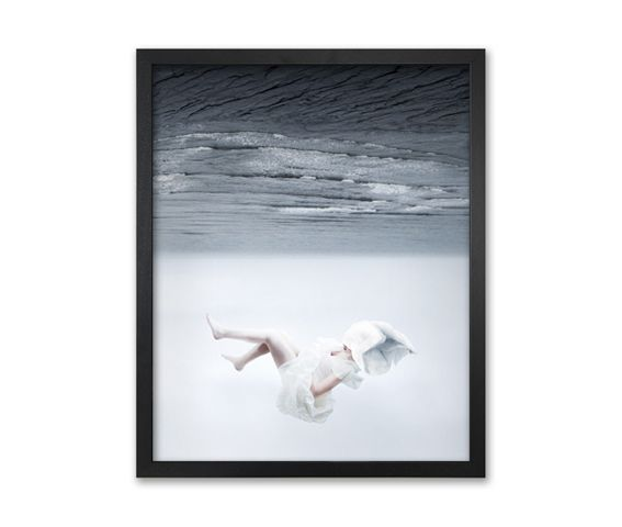 The White Sky-XVII Canvas,Mineheart,Prints & Artwork,picture frame,white