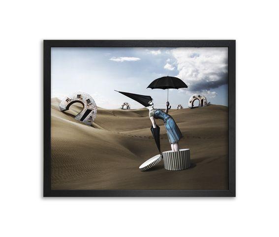 Pray For Rain Canvas by Mineheart