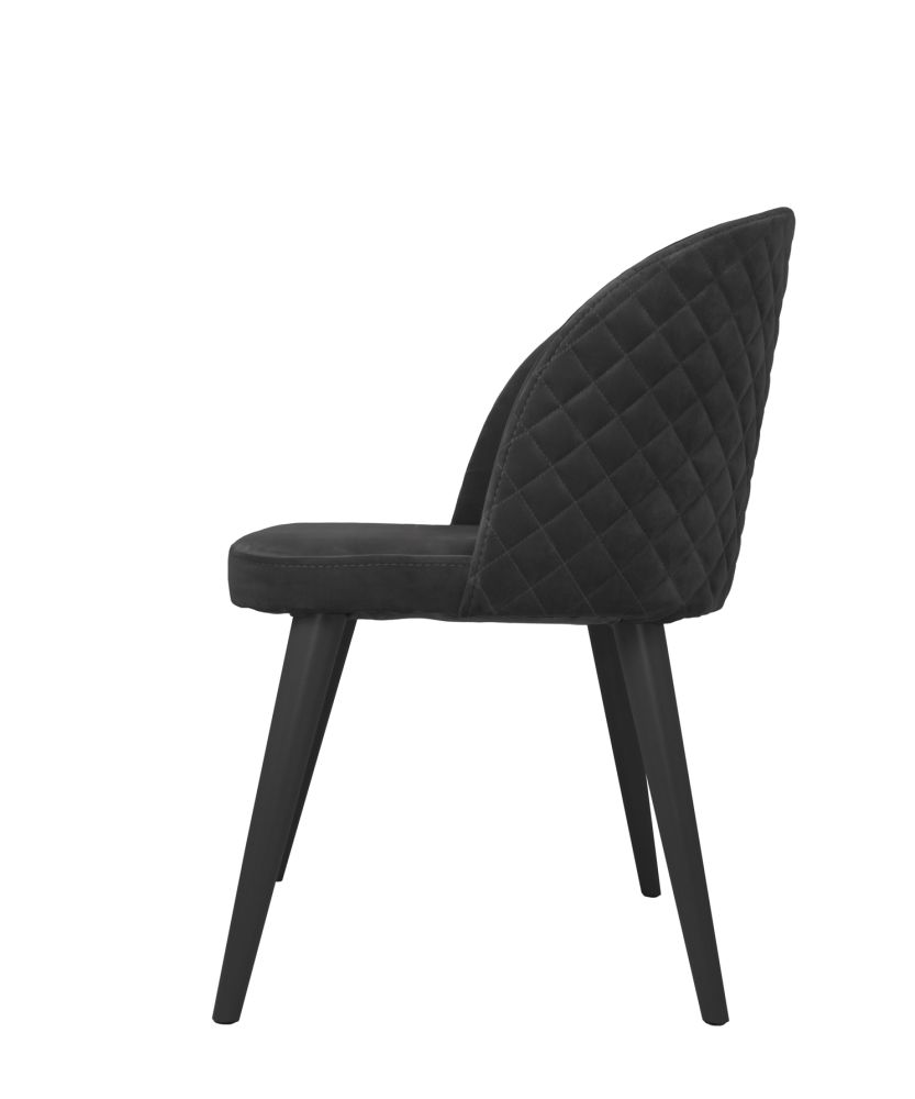 Dusty Pink Lulu Chair,Mineheart,Seating,black,chair,furniture,line