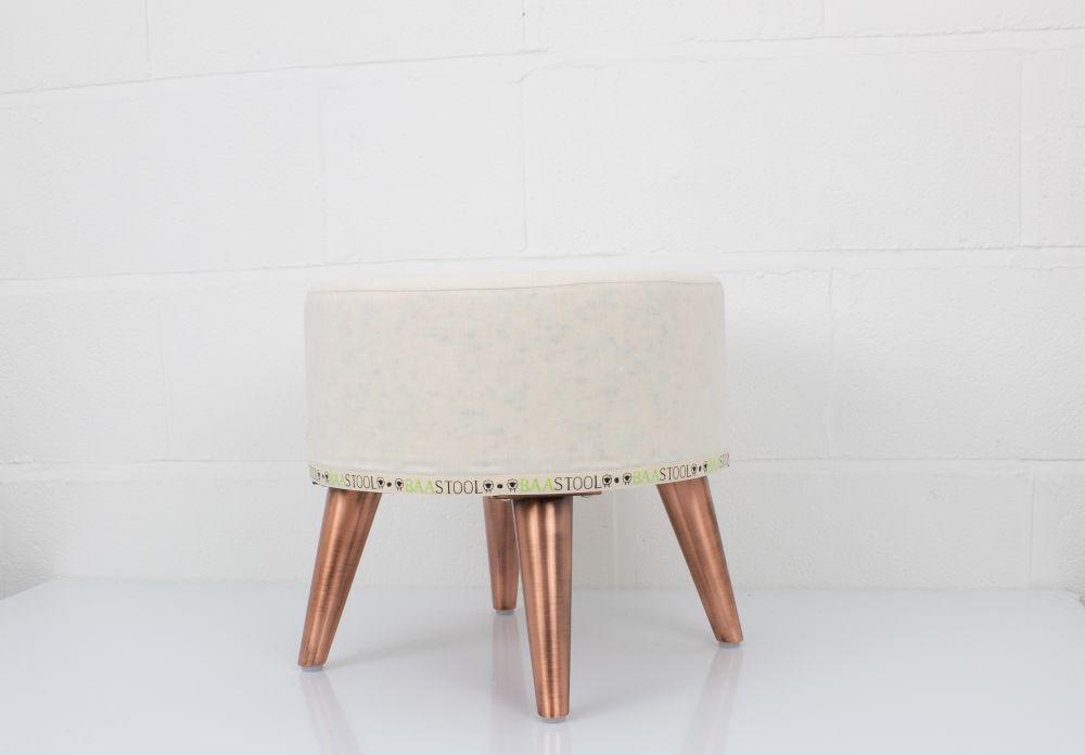 Sheepskin Tuffet - Copper by Baa Stool