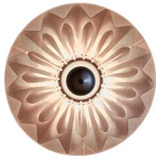 Bronze,Mema Designs,Wall Lights,ceiling,eye,iris,organ