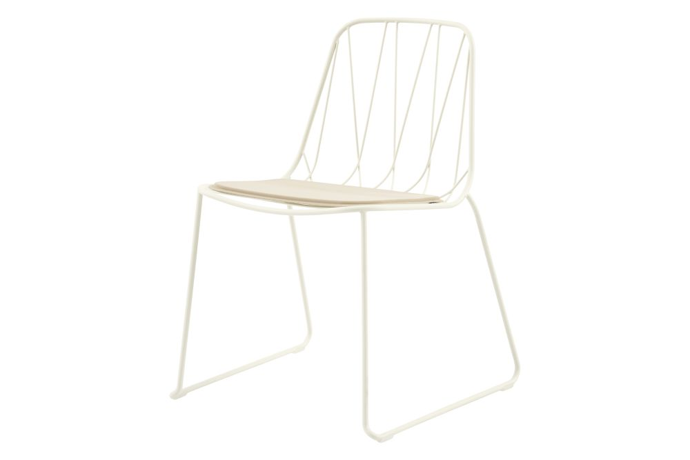 Chee Side Chair with Seat Pad Set of 2 by SP01