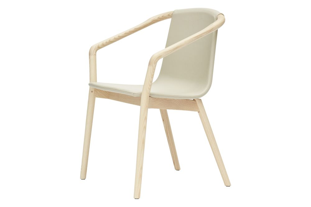Thomas Upholstered Dining Chair with Arms by SP01