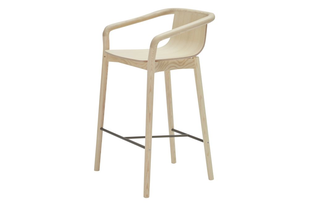 RAL9017 Black, Ash Natural A01N,SP01 ,Stools,bar stool,beige,chair,furniture,stool
