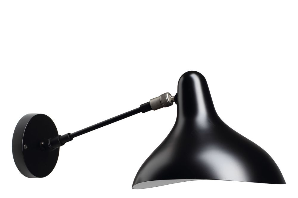 Black Satin,With,DCW éditions,Wall Lights,light fixture