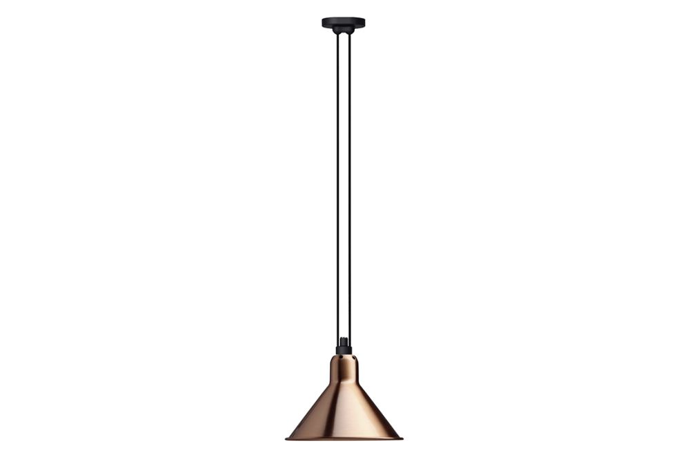 Les Acrobates De Gras 322 Sha L Conic Shade Pendant Light by DCW éditions