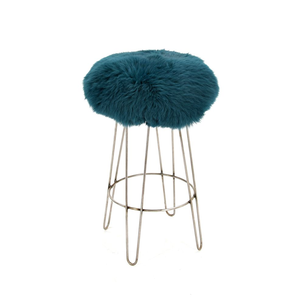 Aubergine,Baa Stool,Stools,bar stool,furniture,stool,turquoise