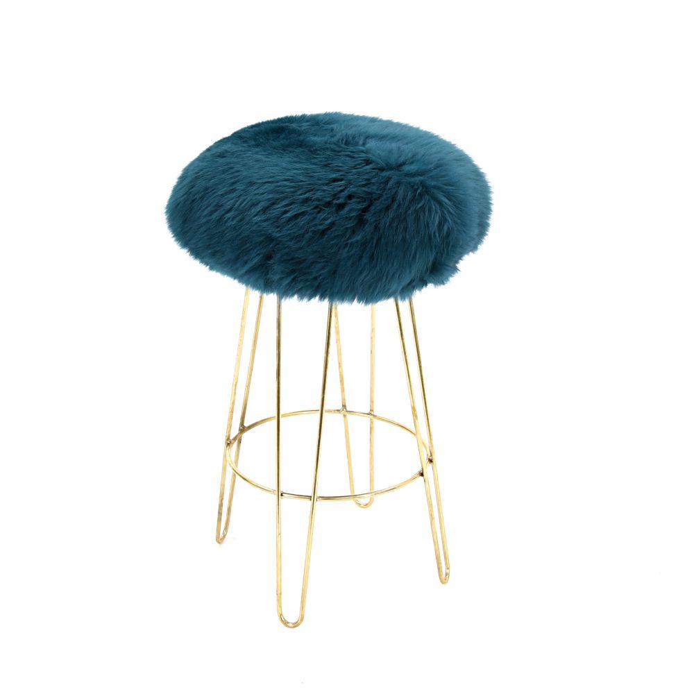 Aubergine,Baa Stool,Stools,bar stool,furniture,stool,teal,turquoise