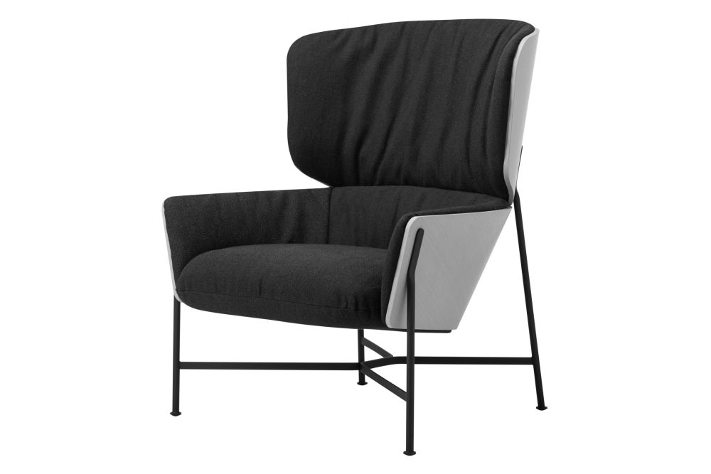 New York Blue-Black, RAL9017 Black, Ash Natural A01N,SP01 ,Lounge Chairs,chair,furniture