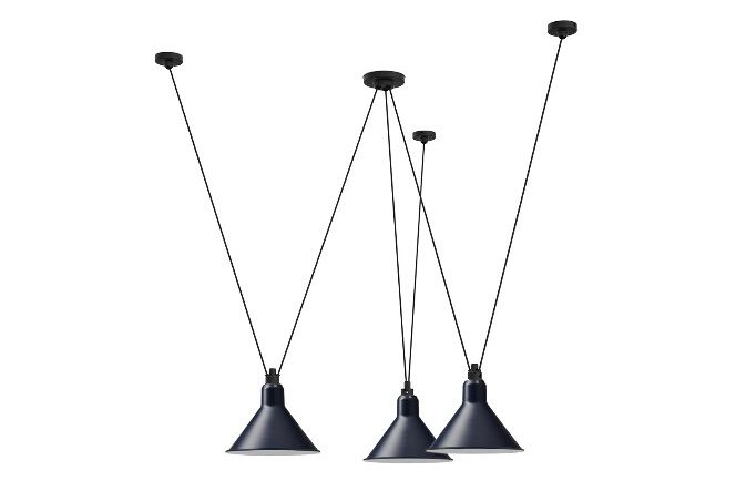 Black Shade,DCW éditions,Pendant Lights,ceiling fixture,light fixture,lighting