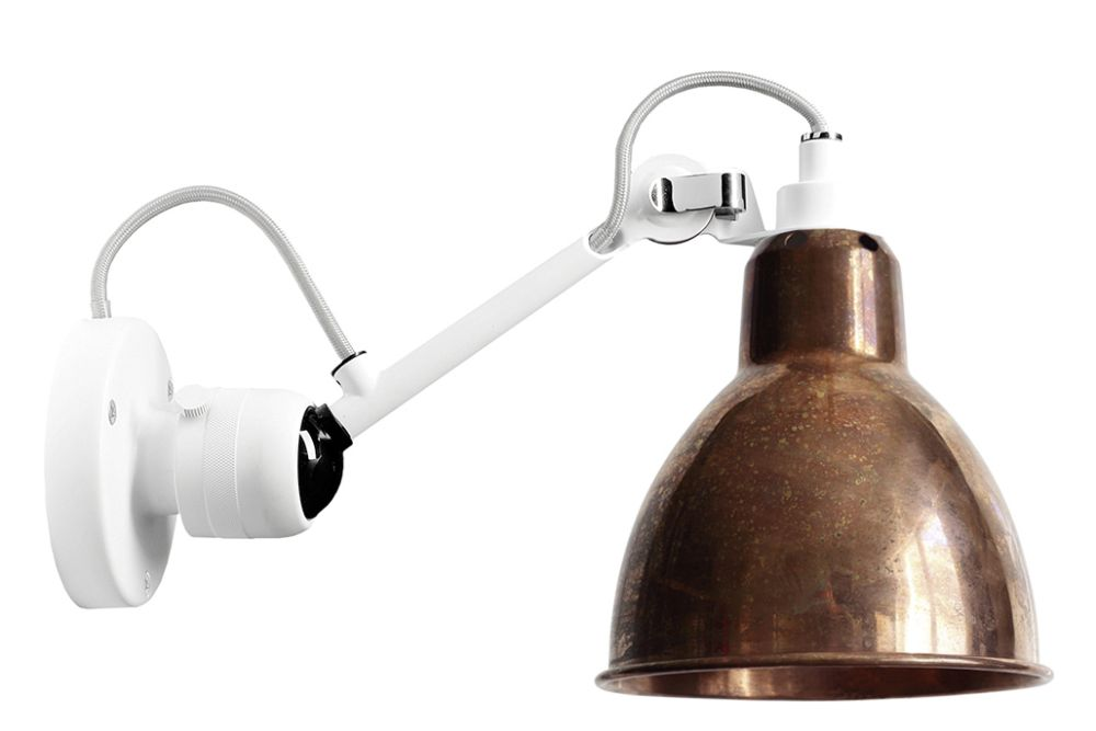 Lampe Gras N 304 Round Shade Wall Light by DCW éditions