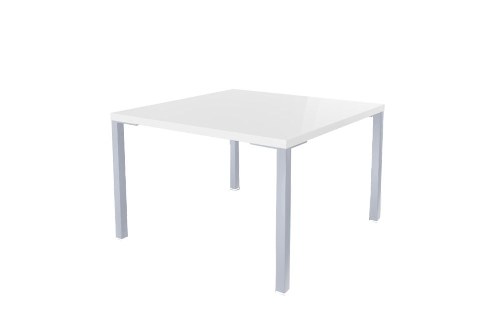 00 White, 00 White, 60 x 60 x 45,Gaber,Cafe Tables,coffee table,end table,furniture,outdoor table,rectangle,sofa tables,table