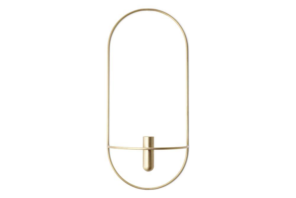 POV Oval Candleholder by MENU