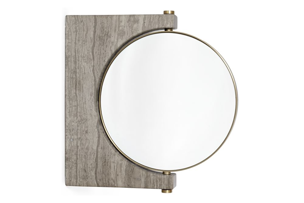 Pepe Marble Mirror, Wall by MENU