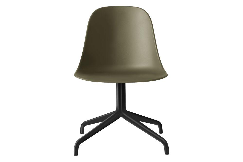 Black Swivel/Khaki Shell,MENU,Office Chairs,beige,chair,furniture,lamp