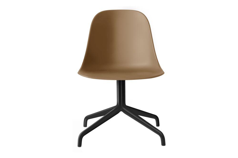 Alu Swivel Base/White Shell,MENU,Office Chairs,beige,brown,chair,furniture,lamp,wood
