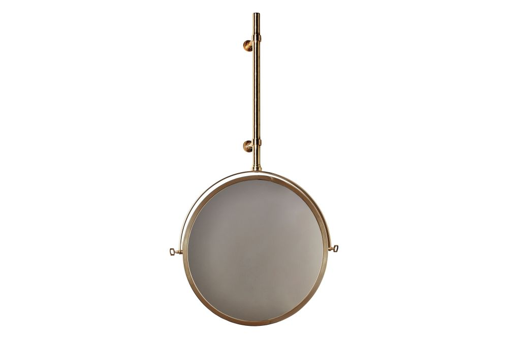Brushed Nickel,DCW éditions,Mirrors,brass,drum,metal