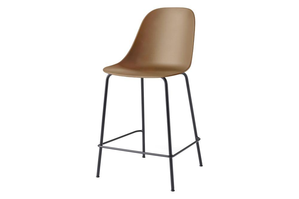 Plastic Light Grey / Metal Light Grey,MENU,Stools,bar stool,beige,brown,chair,furniture,orange