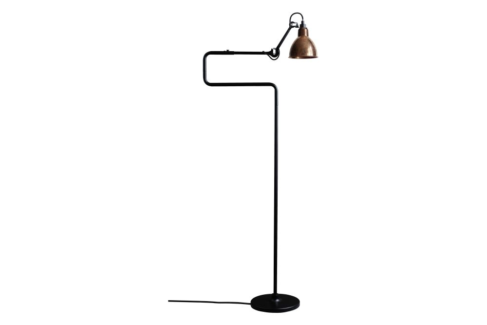 Lampe Gras N 411 Round Shade Floor Lamp by DCW éditions