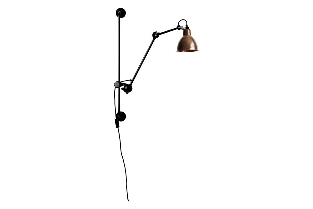 Lampe Gras N 210 Round Shade Wall Light by DCW éditions