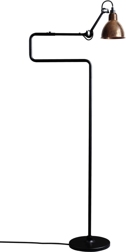 Lampe Gras N 411 XL Round Shade Outdoor Seaside Floor Lamp by DCW éditions