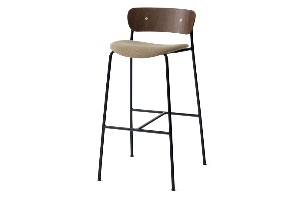 Black lacquered oak, Remix 2 113,&Tradition,Stools,bar stool,chair,furniture,stool