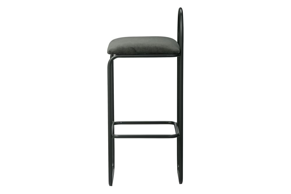Anthracite, 82.5cm,AYTM,Stools,bar stool,chair,furniture,stool