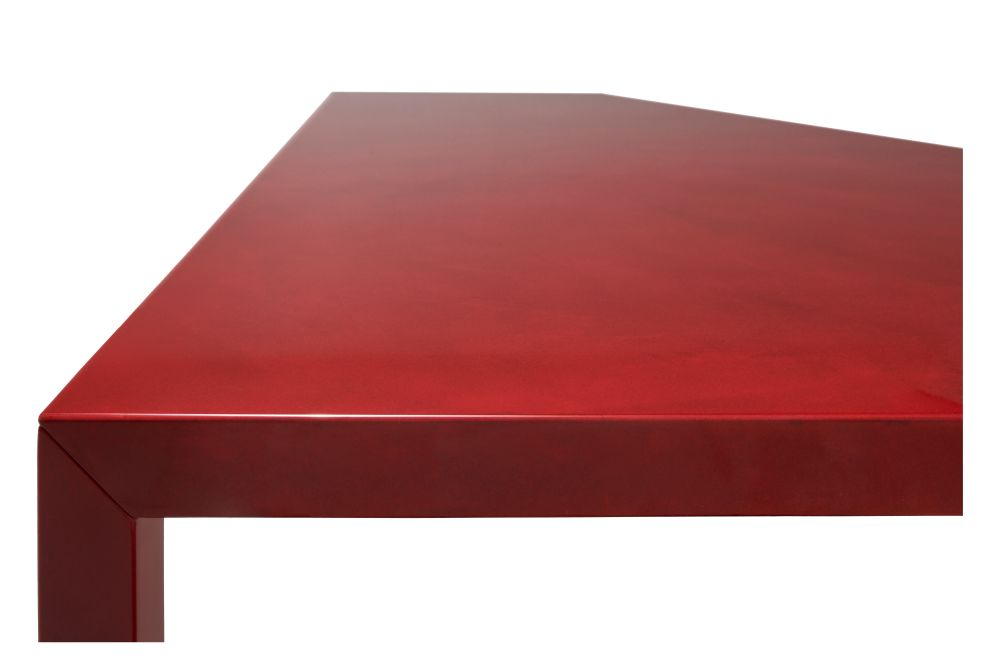 Red Diamond, 45x140cm,MDF Italia,Console Tables,coffee table,furniture,plywood,rectangle,red,table